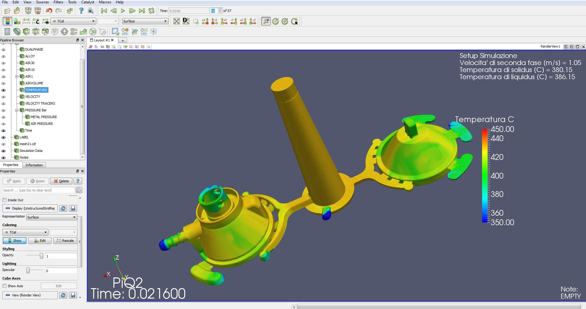 Design of mould prototypes for die casting for Castle design software